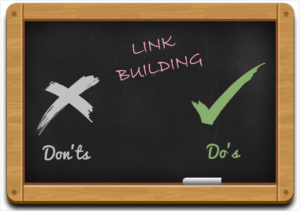 Do's and Don'ts of Link Building