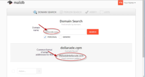 MailDB_Domain_search