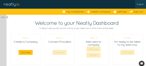 Neatly-Dashboard