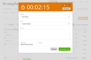 MoneyPenny_Time Tracking