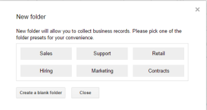 NetHunt_CRM_Preset_or_customized_folder
