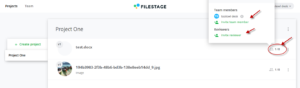 Filestage-InvitingPeopleToTheProject